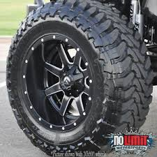fuel jeep fuel maverick d538 20x12 wheels 5x127 black milled 44 offset jeep