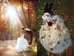 fall wedding ideas her beauty