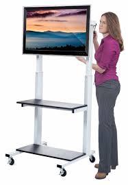 amazon com luxor home office crank adjustable flat panel clcd lcd