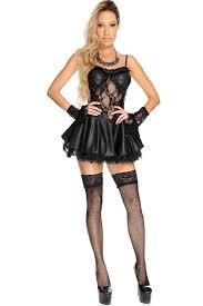 halloween angel costumes black 3 pc dark angel costume