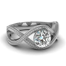 white gold wedding rings white gold white diamond engagement wedding ring in prong