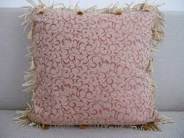 How To Make Home Decorations by How To Make A Throw Pillow With Fringe U2013 Diy Home Decor