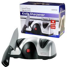 Sharpen Kitchen Knives Electric Professional Razor Knife Sharpener Honer 2 Stage Grinder