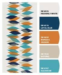 my mid century modern colors repinned by secret design studio