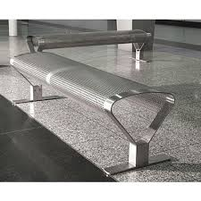 s s waiting bench at rs 14000 number stainless steel bench