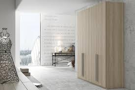chambre a coucher dressing design interieur armoire dressing bois poignées métalliques chambre