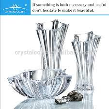 Star Vase Star Shape Clear Glass Czech Republic Bohemia Crystal Vase Buy