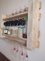 wandregal küche palettenmöbel ideen wandregal gläser tassen küche küchen regal
