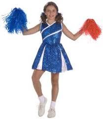 Cute Cheerleading Costumes Halloween Zombie Cheerleader Child Costume Spirit Halloween