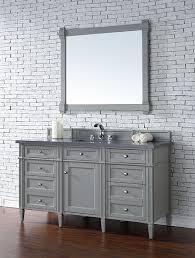 Bathroom Vanity 60 by James Martin Brittany Single 60 Inch Transitional Bathroom
