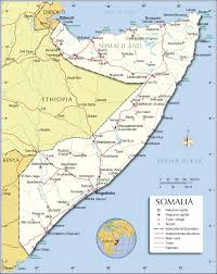 Horn Of Africa Map by Political Map Of Somalia 1200 Pixel Nations Online Project