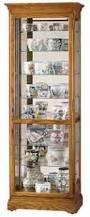 Curio Cabinets Shelves 8 Shelf Curio Cabinets The Clock Depot