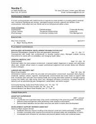 Professional Highlights Resume Examples by Cool Design Ideas Professional Nursing Resume 5 Nursing Resume