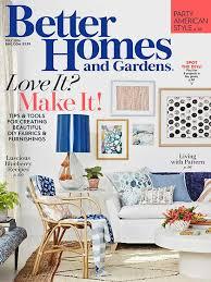 better homes and gardens interior designer july 2016