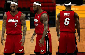 nba 2k14 complete miami heat jersey patch updated nba2k org