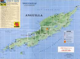 Map Of The Caribbean Sea by Map Of Anguilla Caribbean Sea