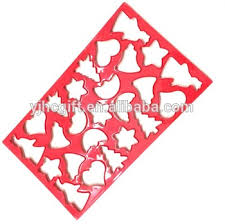 plastic christmas cookie cutter sheet set buy cookie cutter