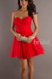 strapless short red dress la glo short dresses in red promgirl
