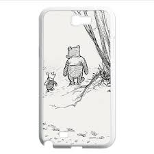 winnie the pooh bear piglet pencil sketch for samsung galaxy note