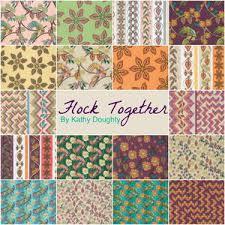 flock together fabric collection favequilts
