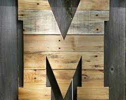 Letter L Home Decor by 24 Letter L Pallet Wall Art Huge Letter Wooden