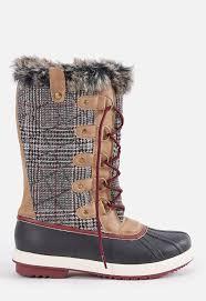 justfab s boots meena flat boot in black get great deals at justfab