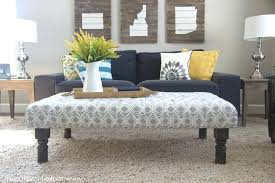 upholstered coffee table ottoman u2013 thelt co