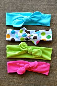 how to make a baby headband pin now make later diy top knot jersey knit headband tutorial