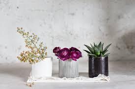 ceramic planter small vase cactus planter air plant small
