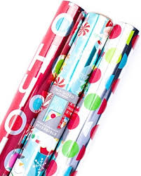 foil wrapping paper don t miss this deal on hallmark christmas reversible wrapping