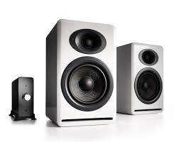 home theater systems with amplifier audioengine p4 passive bookshelf speakers and n22 audio amplifier