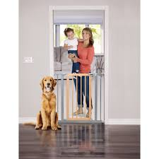 Munchkin Pet Gate Munchkin Extending Extra Tall And Wide Metal Gate White Set Of