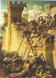 definition of siege warfare arms