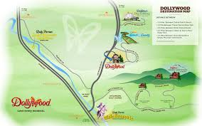 Pigeon Forge Tennessee Map by Destination Map