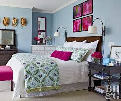 Antiqued Pink And Fuschia Beaded Bedroom Color Schemes