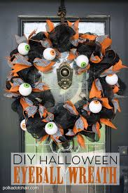 sparkling with diy halloween wreath also diy glow as wells as