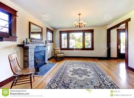 beautiful old craftsman style home living room royalty free stock