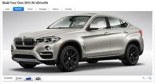 valor reajuste ur 20152016 new bmw x6 priced from 61 900 in the u s configurator goes live