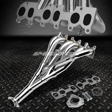 stainless racing manifold header exhaust 92 04 vw jetta golf gti