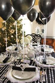 white party table decorations dining room decorations table decorations black and white simple