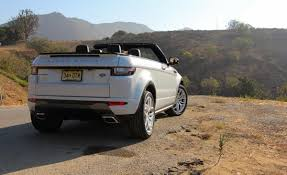 evoque land rover convertible 2017 land rover range rover evoque convertible rear quarter