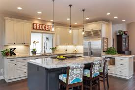 Funky Kitchen Lighting by Classic White Kitchen With Modern Accents Dale U0027s Remodeling