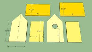 woodworking wooden birdhouse plans kids pdf house plans 8306