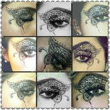 henna eye makeup for our creative and daring dancers eye tattoo makeup designs
