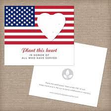 american seed paper veteran memorial cards veteran
