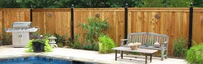 wood fence solutions from cedar springs fence