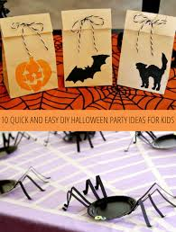 Halloween Party Ideas 10 Quick And Easy Diy Halloween Party Ideas For Kids Babble