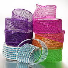 mesh ribbon wholesale poly mesh ribbon deco mesh wholesale deco poly mesh ribbon two