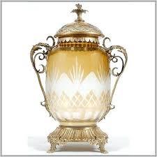 decorative urns decorative urns and vases pair of decorative yellow vases