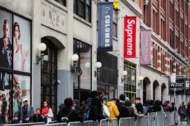 supreme u0027s banner allegedly stolen from nyc store hypebeast